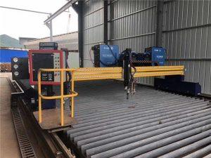 Автоматизирана машина за сечење со плазма CNC со двојно возење 4 милиони шини од 15м