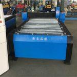 машина за сечење плазма на Кина 100a cnc со метална плоча од 10мм