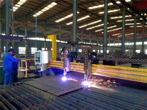 Gantry CNC Плазма машина за сечење и машина за сечење пламен за челична плоча