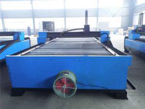 машина за сечење плазма со тешки челични метални плочи со мека челична плоча