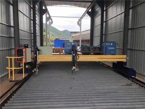 Прецизна машина за сечење со плазма ЦНЦ точно 13000мм со серво мотор