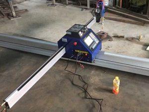машина за сечење плазма со мали плочи за CNC 1530 преносна CNC метална плазма / машина за сечење метал / пламетар за лим на пламен се продава